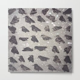 crow-55 Metal Print