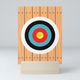 Shooting Target Mini Art Print