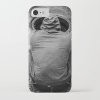 crossfit iPhone & iPod Cases featuring Meditation by DerekDa