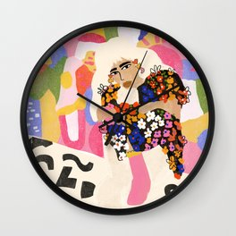 World Full Of Colors Wall Clock