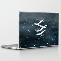 starry night Laptop & iPad Skins featuring STARRY NIGHT by MEERA LEE PATEL