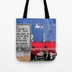 Street Collage II Tote Bag