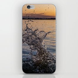Sunset Splash iPhone Skin