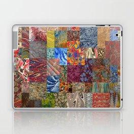 Turkish Marbled Paper Art (Ebru) Laptop & iPad Skin