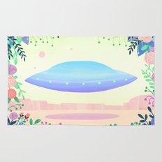 Floral UFO 1 Rug