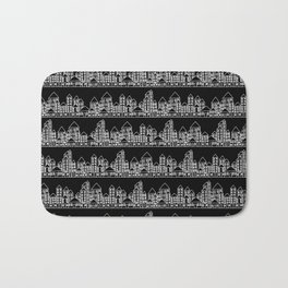 Little City // Black Bath Mat