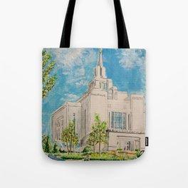 Kyiv Ukraine LDS Temple Tote Bag