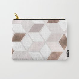 Golden Cubes II Carry-All Pouch