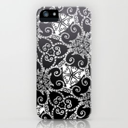 Candy Cane Tangle - Reversed iPhone Case