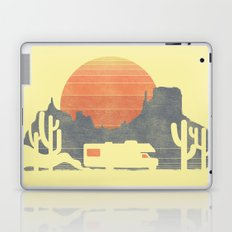 Trail of the dusty road Laptop & iPad Skin