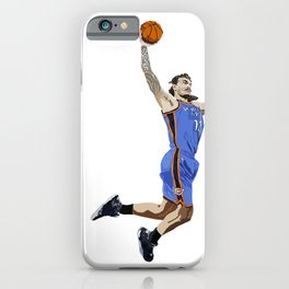Steven Adams - NBA CUBISM iPhone Case