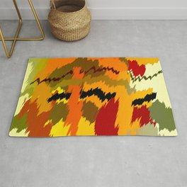 <Melted Chaos Rug