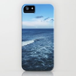 blue on blue iPhone Case