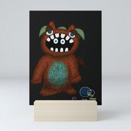 Scared Monster Mini Art Print