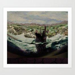 Still Waters Run  Art Print