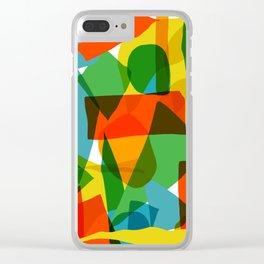Super Colors Clear iPhone Case