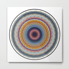 Mandala 4 Metal Print