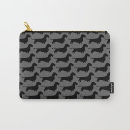 Wirehaired Dachshund Silhouette Carry-All Pouch