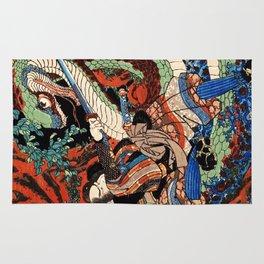 Ukiyo-e, Dragon Rug