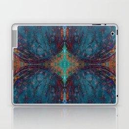 Blue angel geometry Laptop & iPad Skin