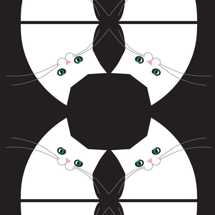 White Cat of Lisa Leggings