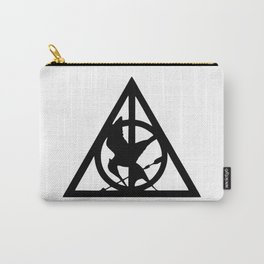 Deathly Hallows logo Carry-All Pouch