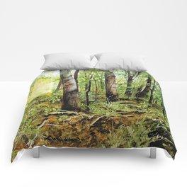 Forest Woods Vermont Landscape Comforters