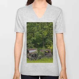 Long term parking Unisex V-Neck