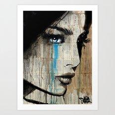 BLUE HUNGER Art Print