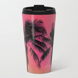 Hot Pink Palms Travel Mug