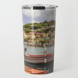 Marigot, St Martin Travel Mug