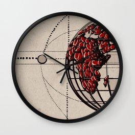 Vintage Planet Wall Clock