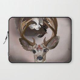 Deer's Balance  Laptop Sleeve