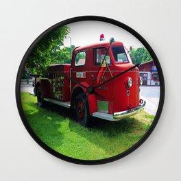 Put-in-Bay Volunteer Fire Dept V Wall Clock