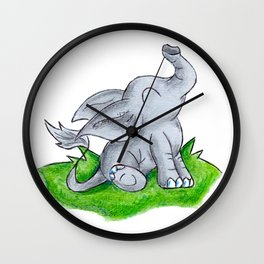 Trunk Time Wall Clock