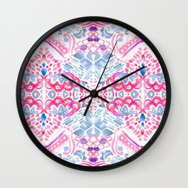 Bohemian Quartz Wall Clock