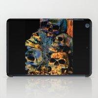 skulls iPad Cases featuring Skulls By Annie Zeno by Annie Zeno
