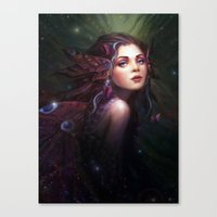 fairy Canvas Prints featuring Fairy  by Westling