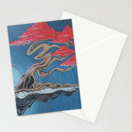"""Crane Glyde""- Bonsai Collection Stationery Cards"