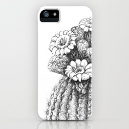 Saquaro Blooms iPhone Case