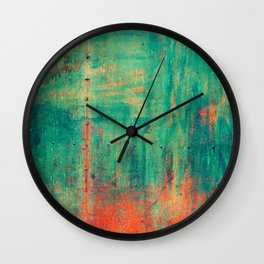 Vintage metal Wall Clock