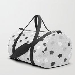 Сount Sheeps Away Pattern Duffle Bag