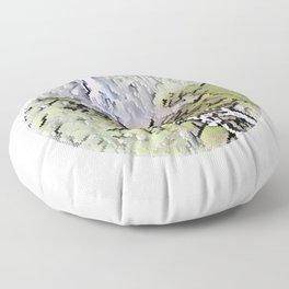Rjoandefossen Waterfall Floor Pillow