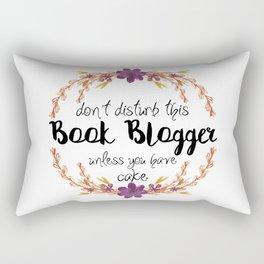 Don't Disturb Book Bloger Rectangular Pillow