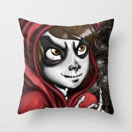 Poco Loco Throw Pillow