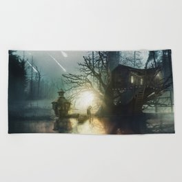 Coming Home Beach Towel