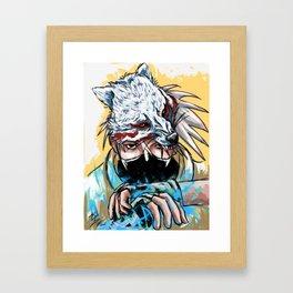Abstract Kakashi Framed Art Print