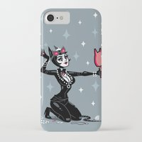 catwoman iPhone & iPod Cases featuring Catwoman by ZoeStanleyArts