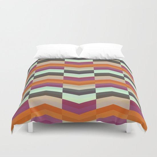 ZigZag Pattern Duvet Cover