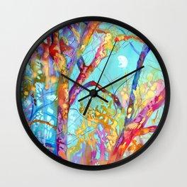 January Tree Wall Clock